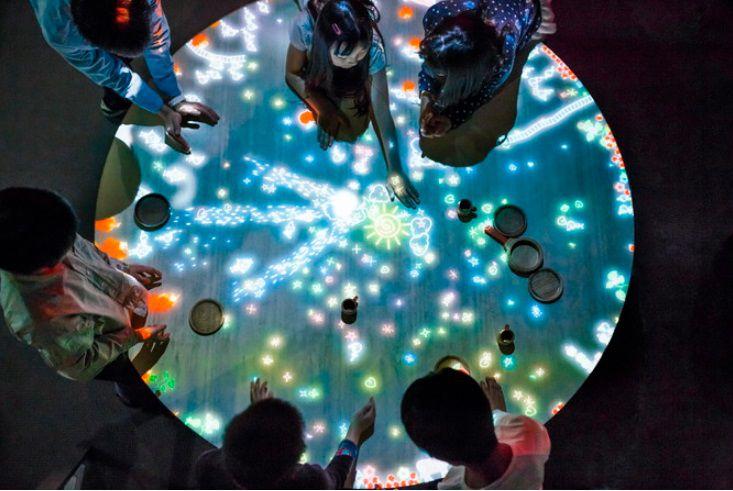 จินตนาการแห่งโลกดิจิทัลอาร์ต การเรียนรู้วิทยาศาสตร์แบบใหม่ที่นาโกย่า