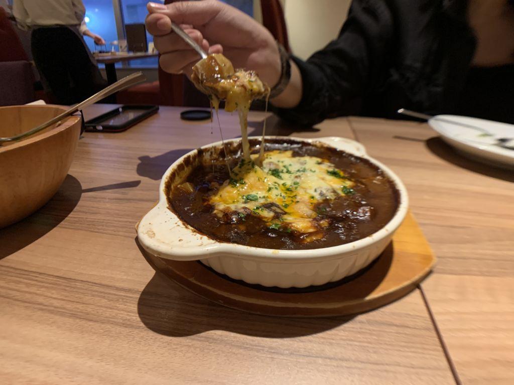 Beef Stew อบชีส ORGALI ร้านดังกับอาหารอิตาเลียนสไตล์ญี่ปุ่น เมืองซัปโปโร