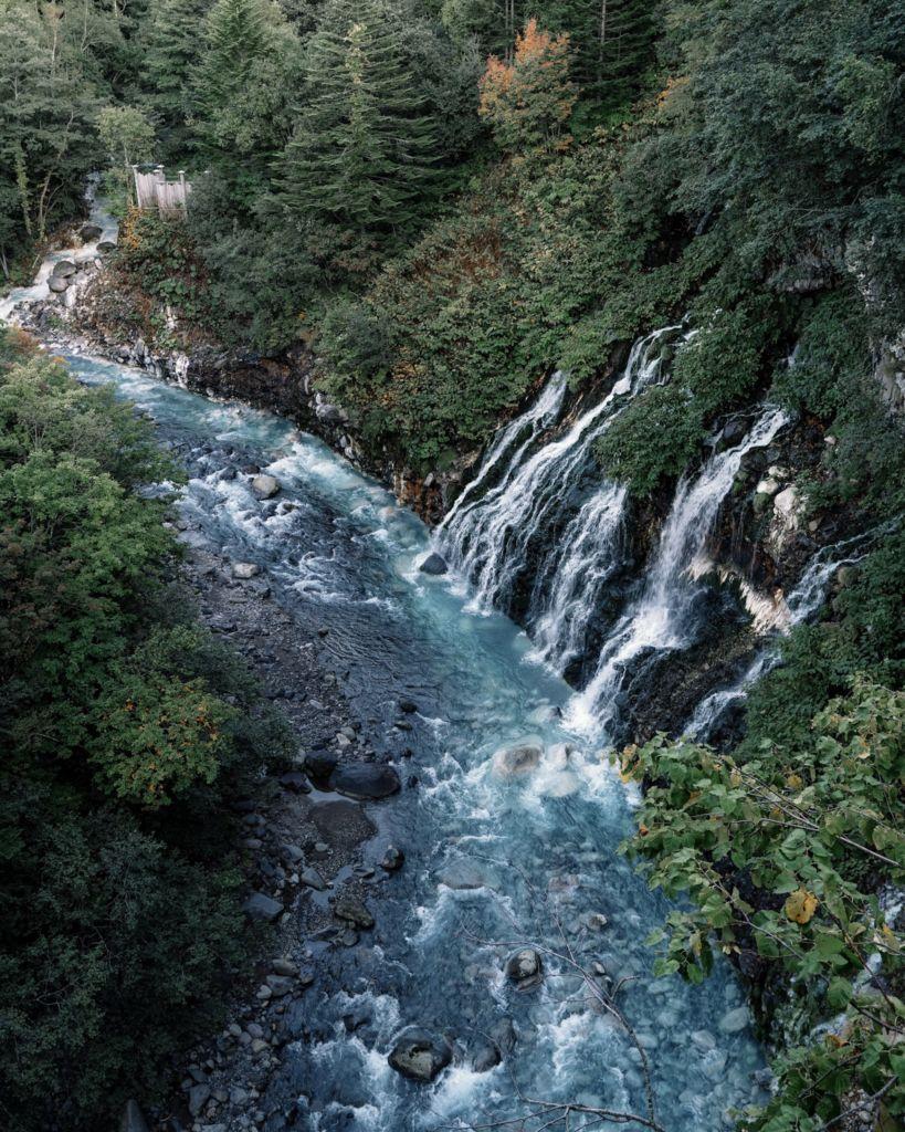 Shirahige waterfall ฮอกไกโด