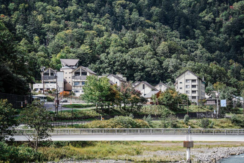 ทางขึ้น Sounkyo Visitor Centerฮอกไกโด