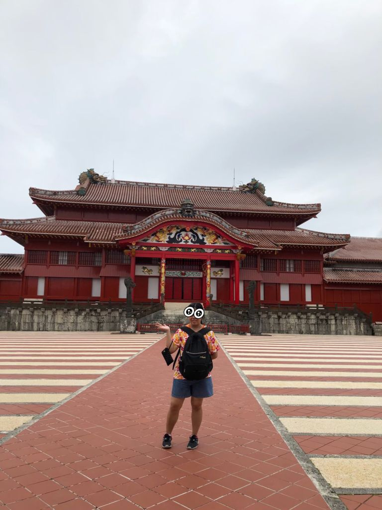 ปราสาทชูริ shurijo castle โอกินาว่า