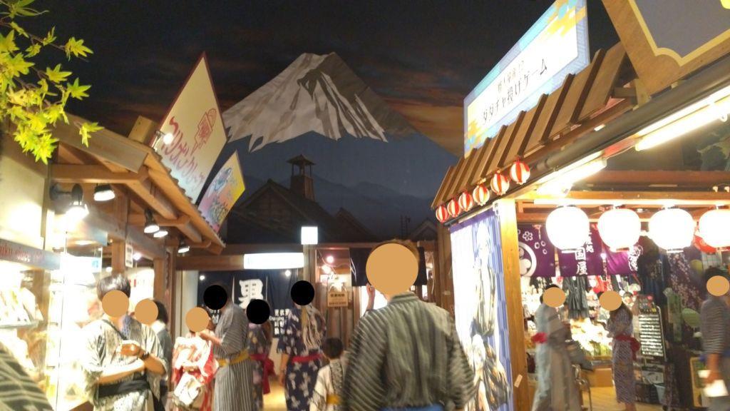 กิจกรรมใน Odaiba Oedo Onsen Monogatari โอไดบะ โตเกียว