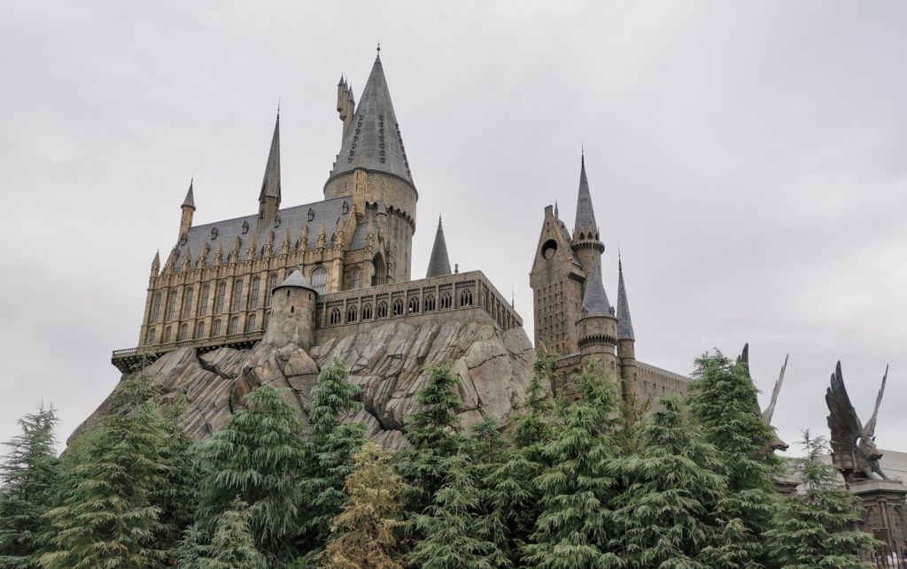 เครื่องเล่น Harry Potter and the Forbidden Journey ที่ Universal Studios Japan