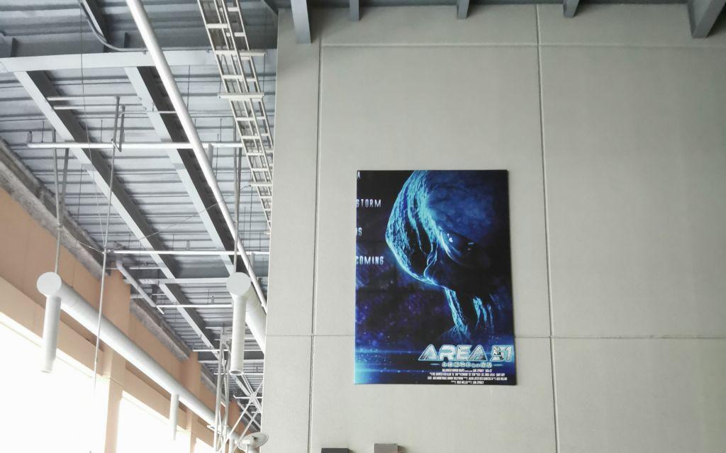 เครื่องเล่น Area 51 ที่ Universal Studios Japan