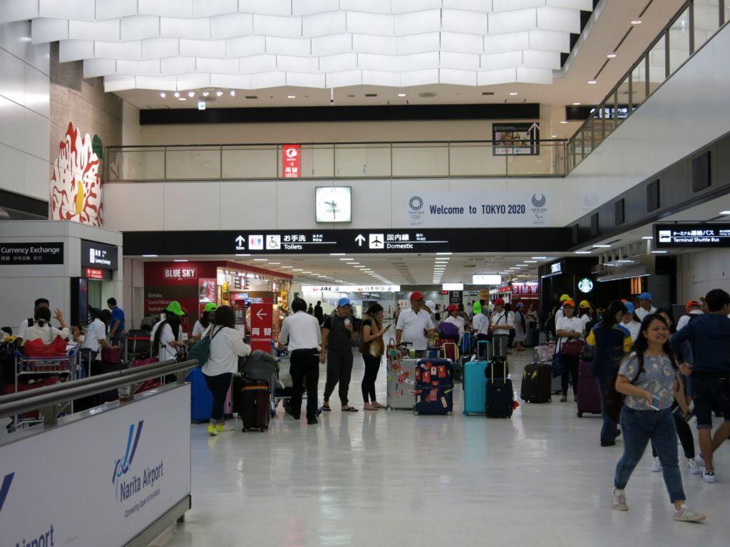สนามบินนานาชาตินาริตะ ประเทศญี่ปุ่น