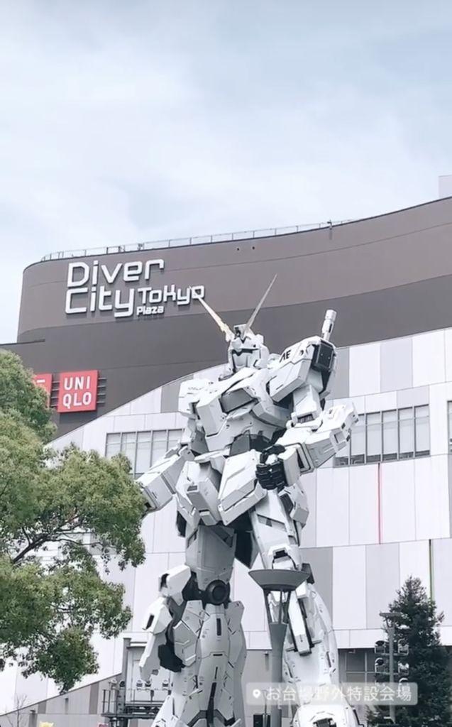 ยูนิคอร์นกันดั้ม ห้าง Diver City Tokyo Plazaโอไดบะ