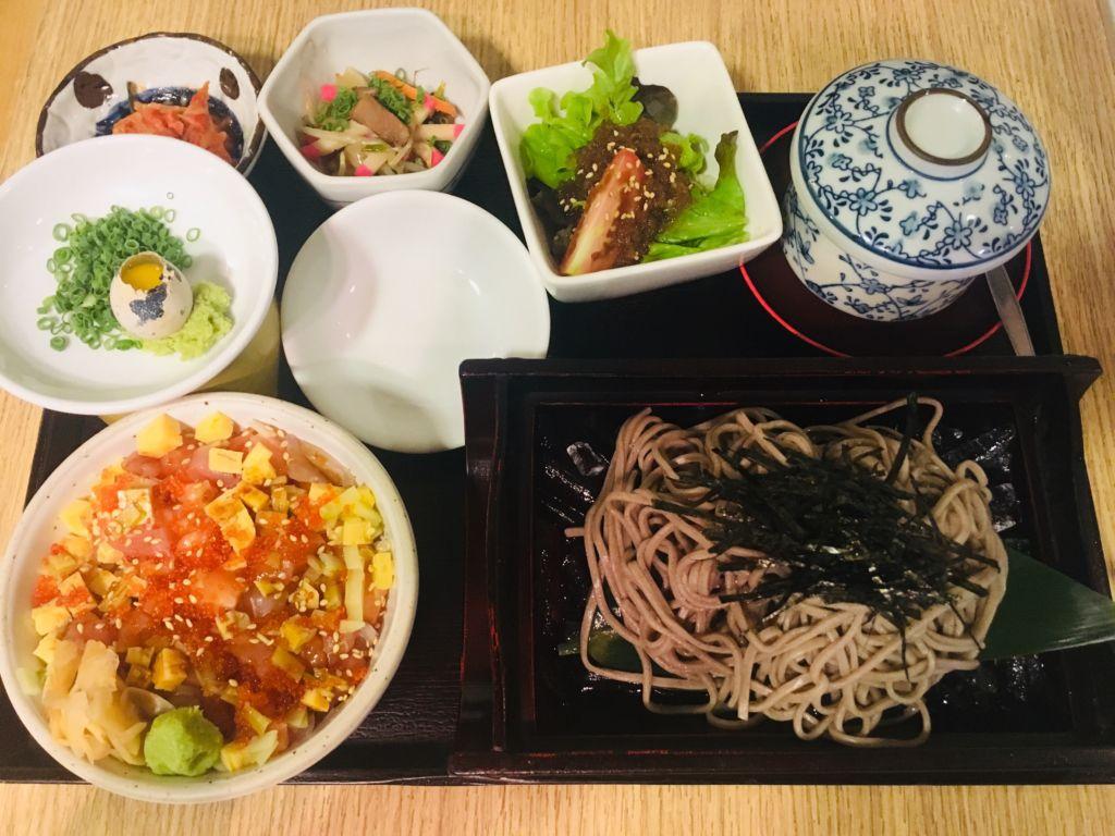 บาราชิราชิ ด้ง และซารุ โซบะ FUMi Japanese Cuisine ร้านอาหารญี่ปุ่นสไตล์ออริจินัลและฟิวชั่น