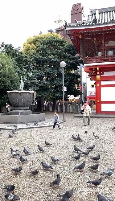 วัด Osu Kannon ย่าน Osu ใน Nagoya