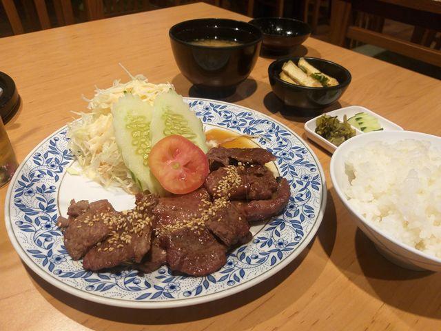 เซ็ตเนื้อย่างซีอิ๊ว The Japan Restaurant อาคารสาทรธานี