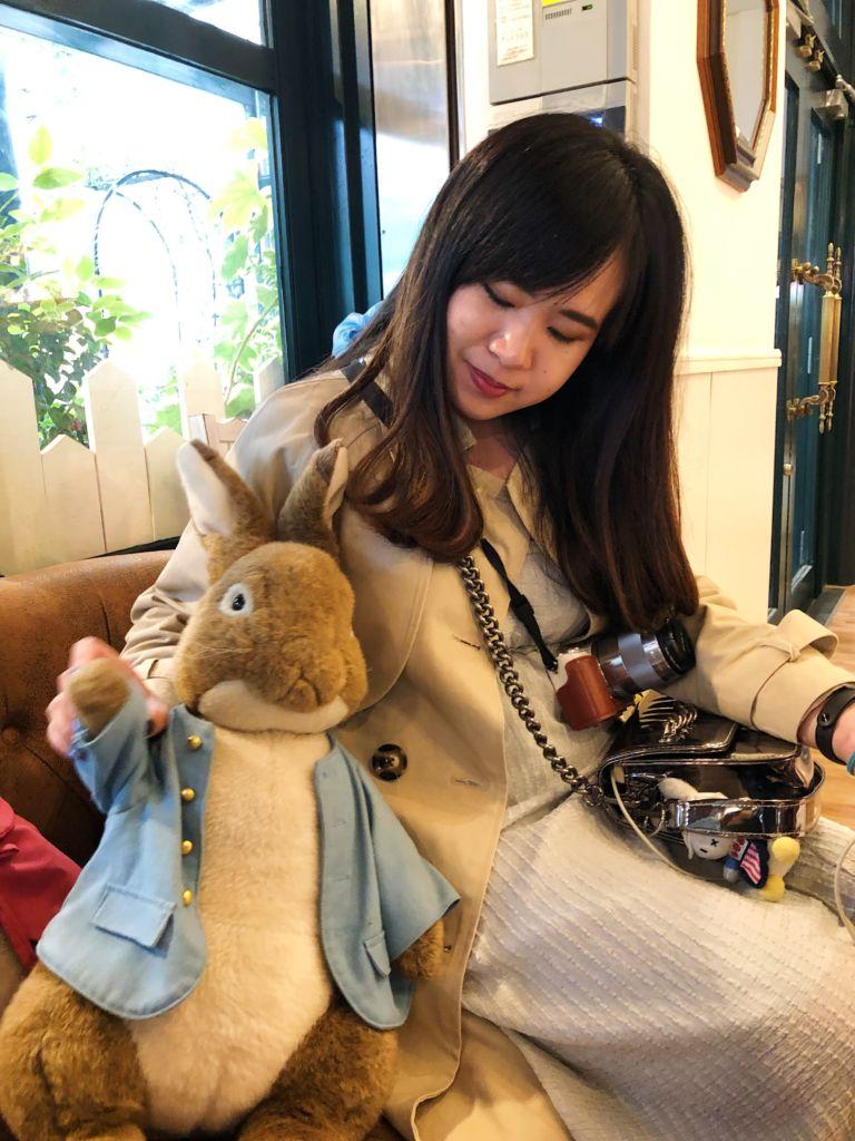 คาเฟ่กระต่าย Peter Rabbit Garden Cafe โตเกียว
