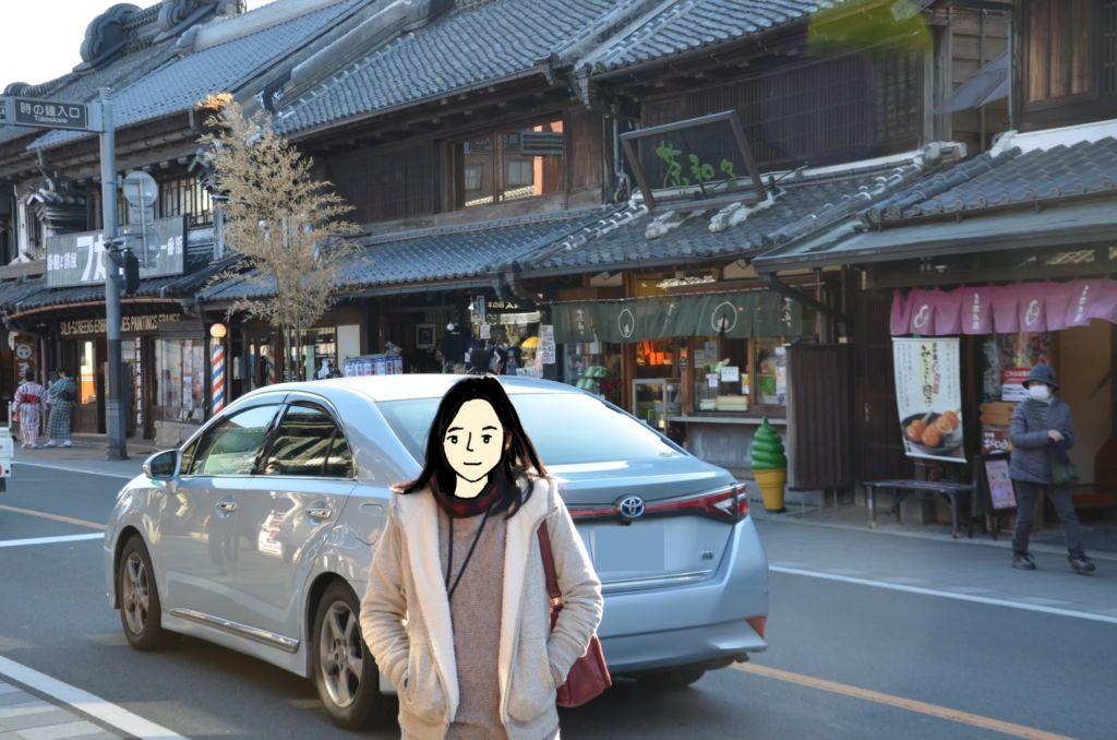 ตรอกเก่า KuraZukuriStreet ในเมืองคาวาโกเอะ (Kawagoe)