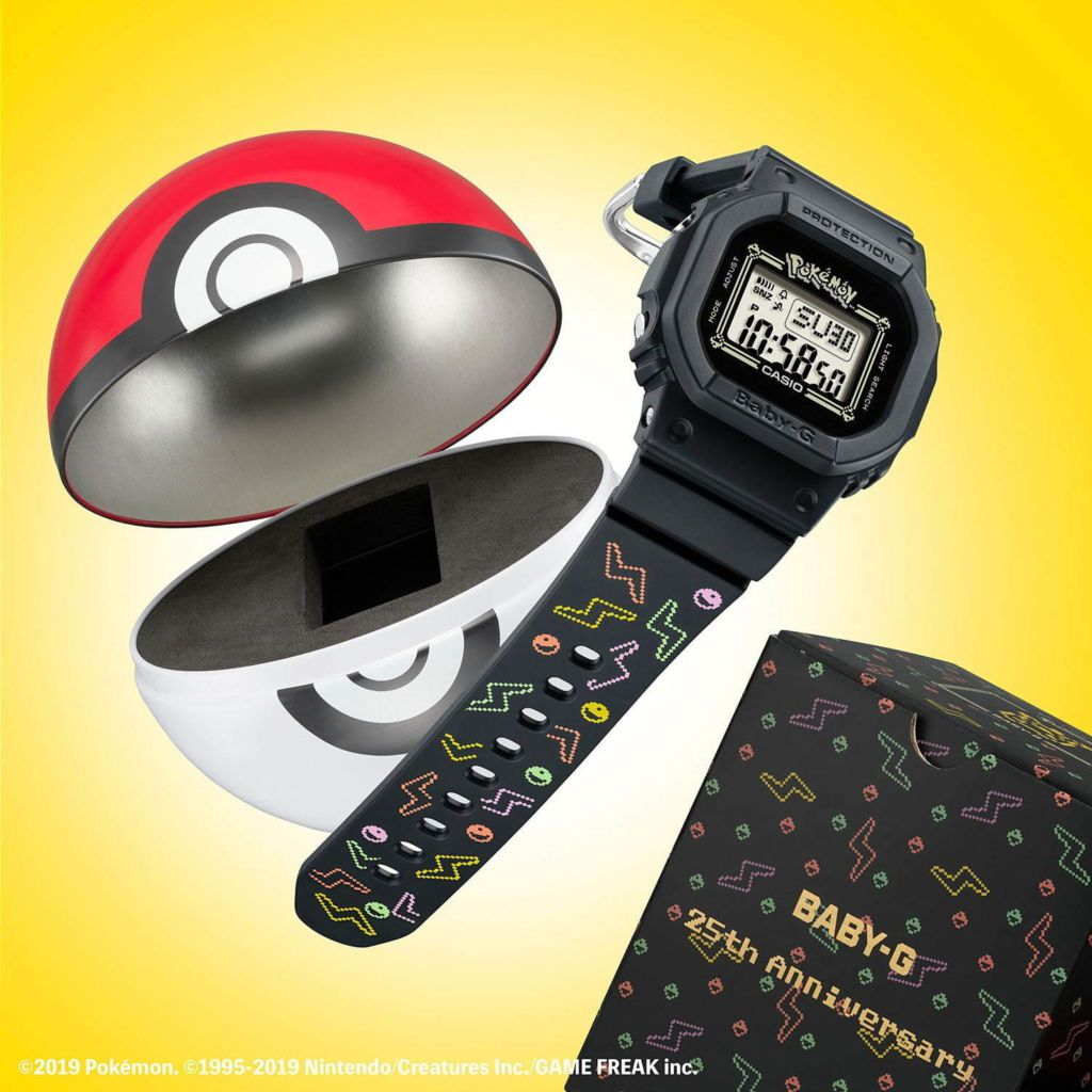 เอาใจเทรนเนอร์โปเกม่อนกับนาฬิกา BABY-G x Pokémon ดีไซน์เจ้าปิกาจู