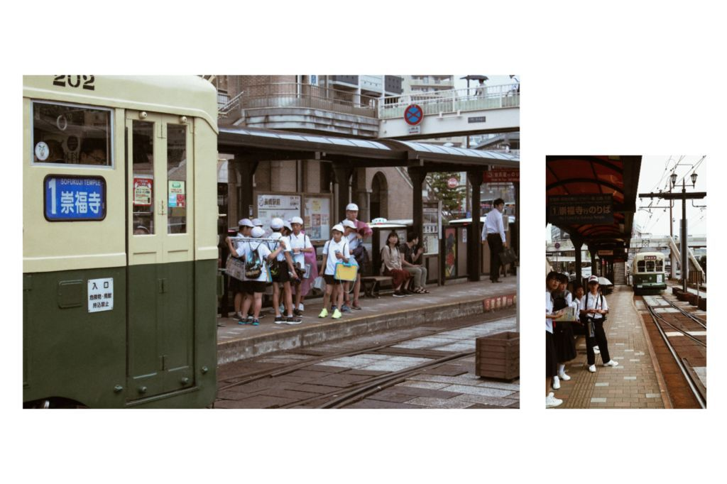 เที่ยวนางาซากิ 1 วัน เดินทางในเมืองโดยในเมืองโดยรถราง One Day Pass Tram