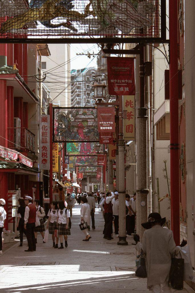เที่ยวนางาซากิ 1 วัน Shinchi Chinatown ไชน่าทาวน์ในนางาซากิ