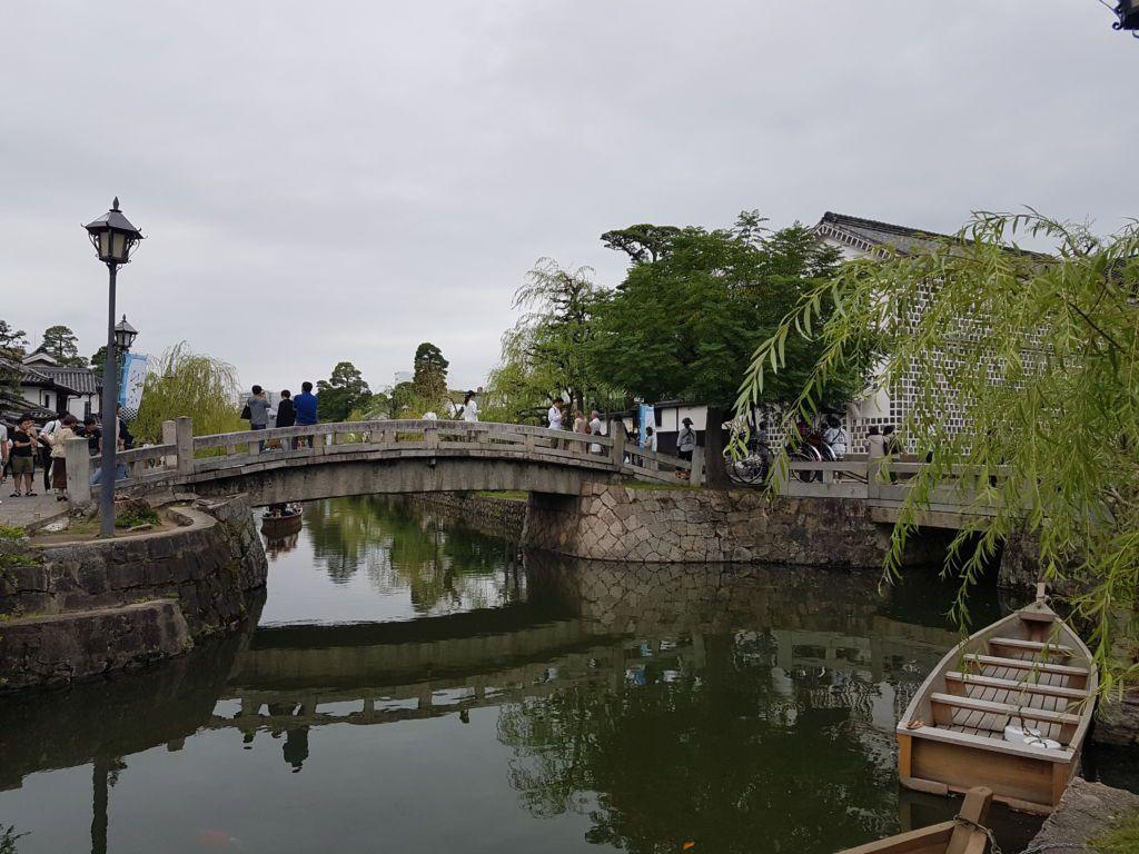 เที่ยวแบบย้อนยุค ที่เมือง Kurashiki Okayama
