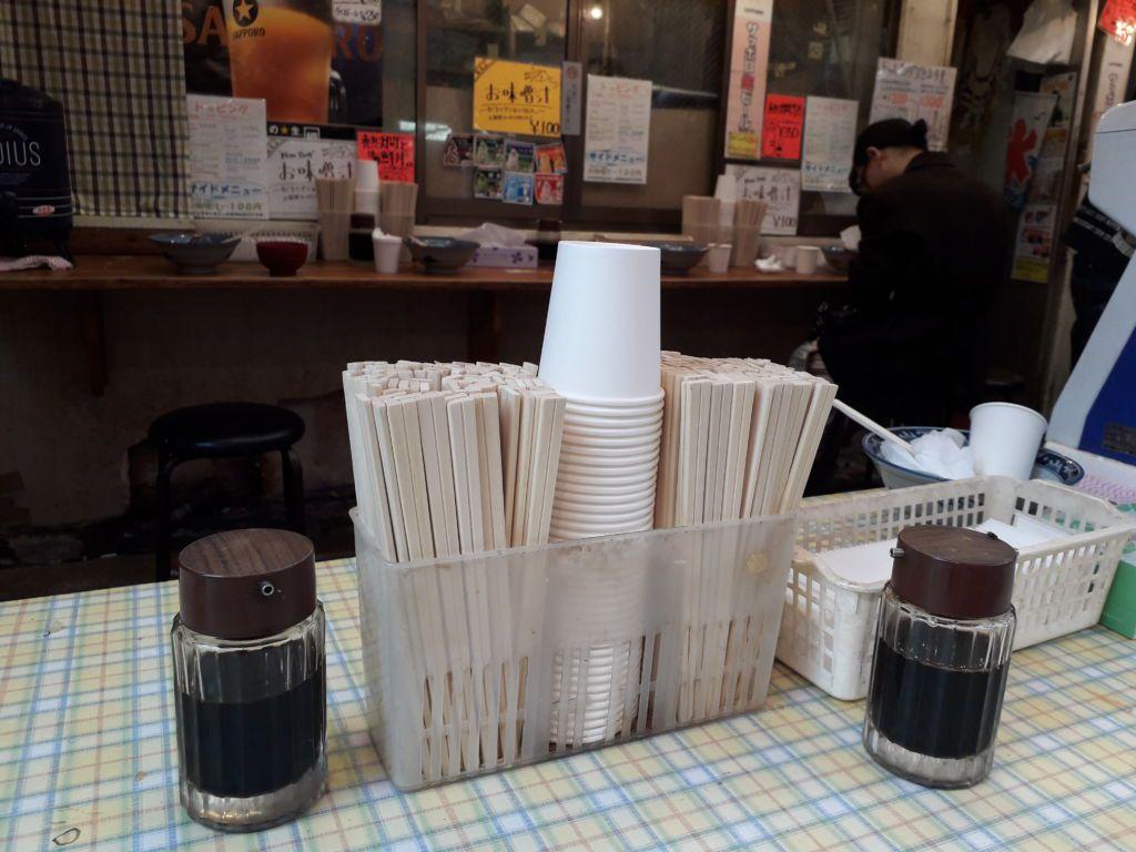 ร้านข้าวหน้าปลาดิบ Minato ya ตลาดอะเมโยโกะ (Ameyoko Market) อุเอโนะ