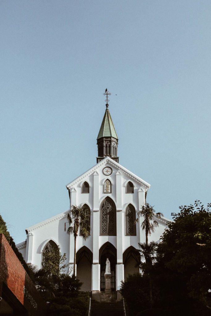 เที่ยวนางาซากิ 1 วัน เที่ยวโบสถ์ Oura โบสถ์คริส์ที่เก่าแก่สุดในญี่ปุ่น