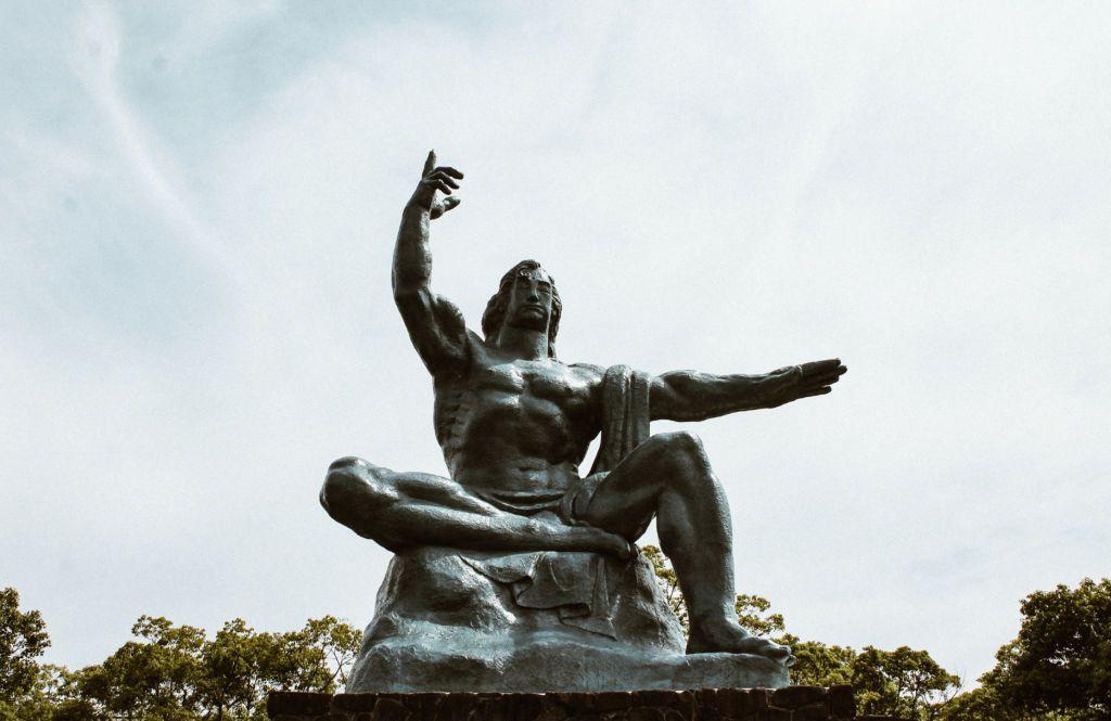 Peace Statue สัญลักษณ์แห่งสันติภาพ