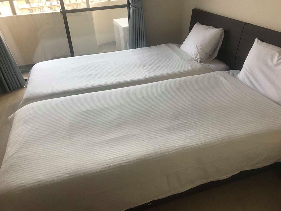 โรงแรม Stay tenjin Minamiห้องกว้างราคาถูกใจกลางฟุกุโอะกะ