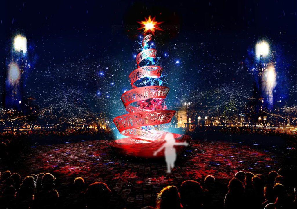 ชมไฟประดับ 13 ล้านดวงสุดอลังในเทศกาลคริสต์มาสที่ Huis Ten Bosch
