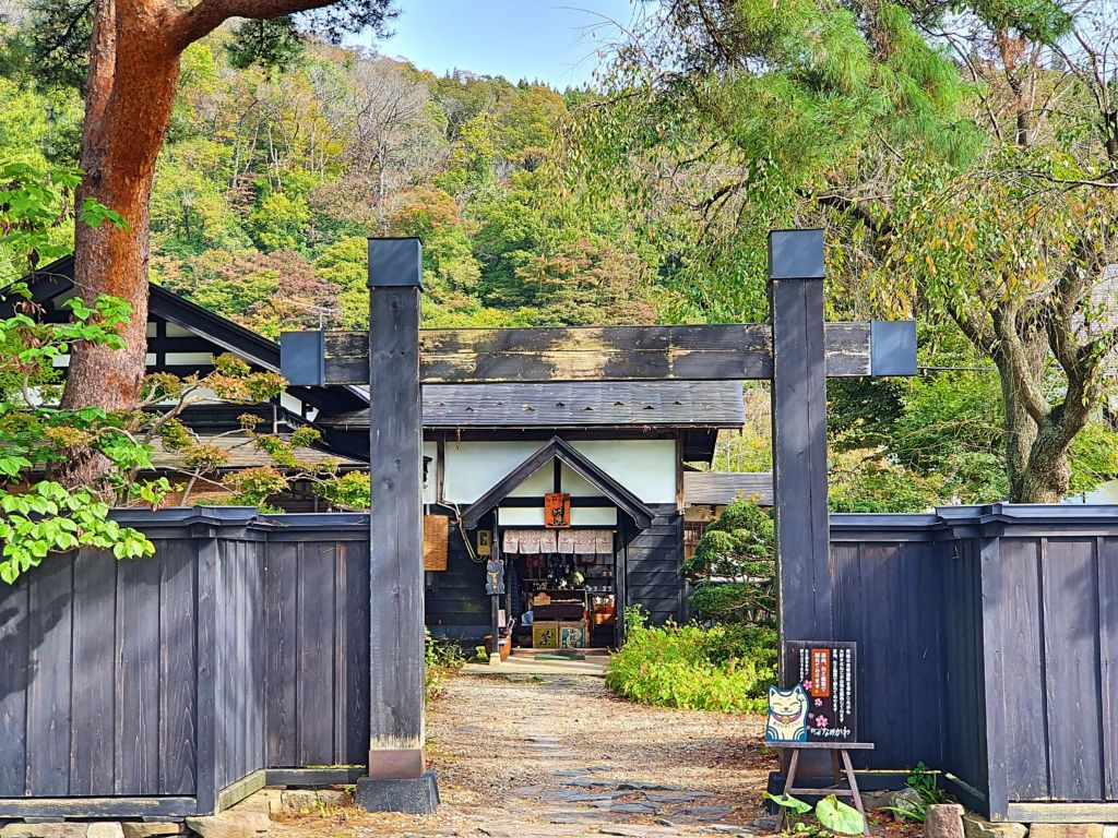 เที่ยวหมู่บ้านซามูไร Kakunodate จังหวัดอะคิตะ