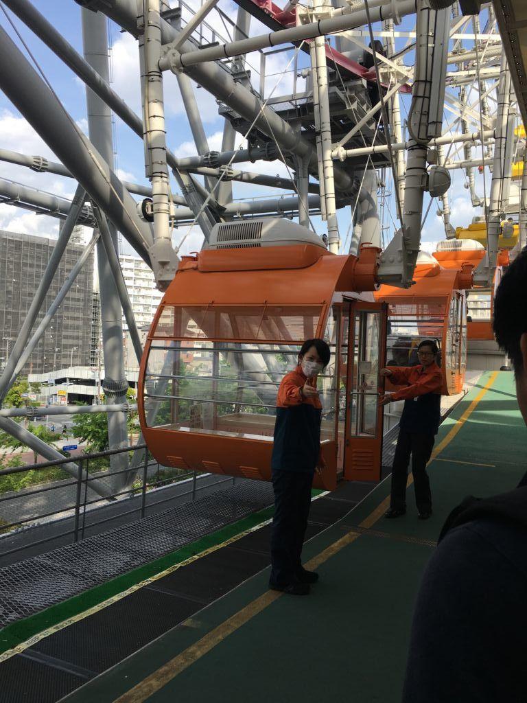 ชิงช้าสวรรค์ Tempozan Giant Ferris Wheel โอซาก้า