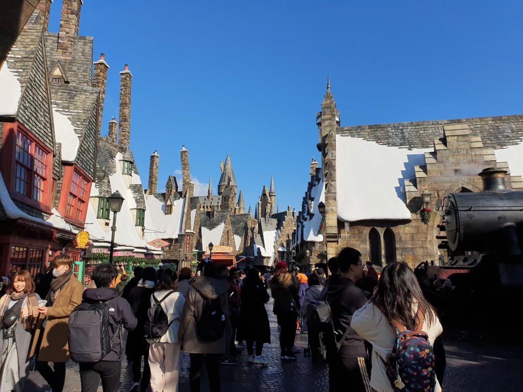 เที่ยวปราสาทฮอกวอตส์ The Wizarding World of Harry Potter ที่ Universal Studio Japan (USJ)