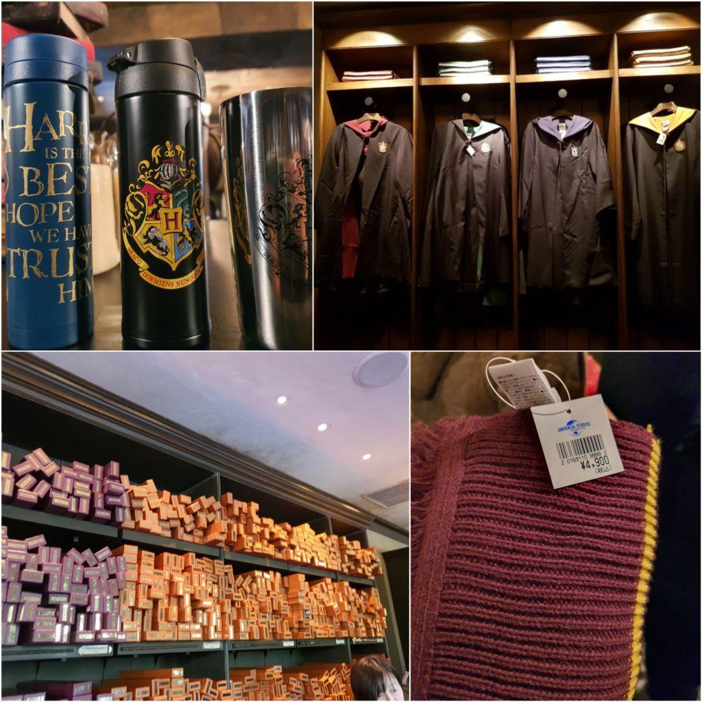 ร้านของที่ระลึก Harry potter ที่ Universal Japan