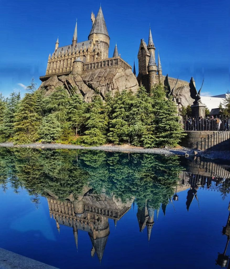 ปราสาทแฮร์รี่ พอตเตอร์Harry Potter ที่Universal Studio Japan (USJ)