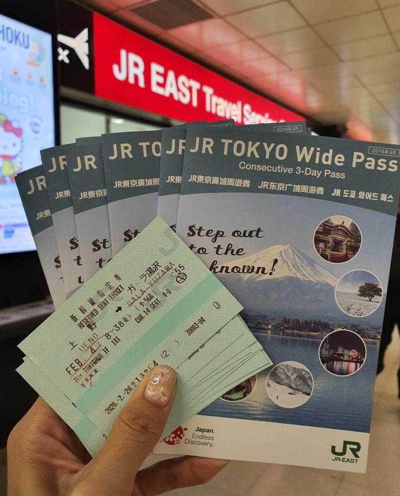 ราคา JR TOKYO Wide Pass