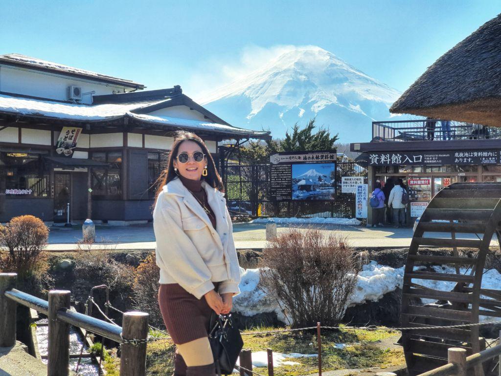 บรรยายกาศOshino Hakkai หรือ ที่เรียกว่า หมู่บ้านน้ำใส