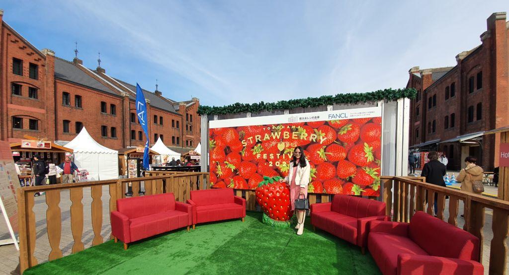งาน Strawberry Festival 2020 ที่โยโกฮาม่า (Yokohama)