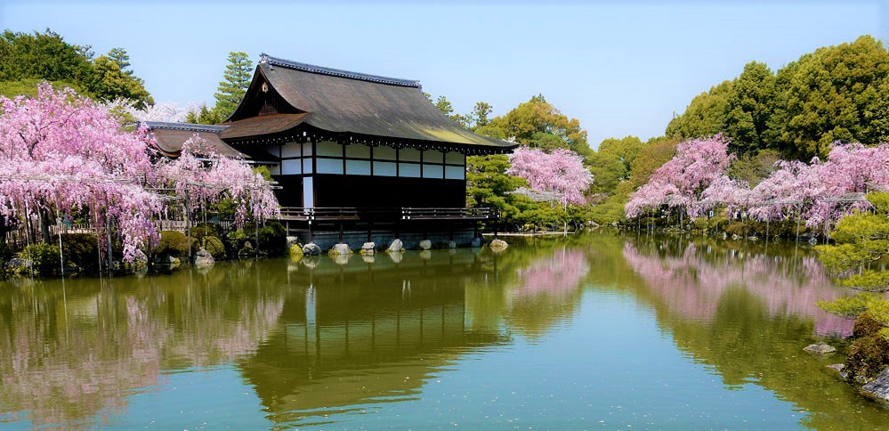 ศาลเจ้าเฮอัน (Heian Shrine | 平安神宮) 15 จุดชมซากุระต้องห้ามพลาดในเกียวโต (Kyoto)