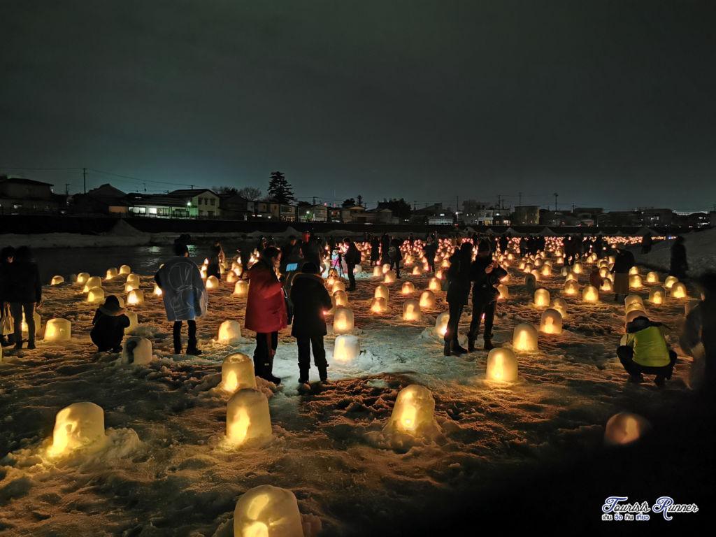 Yokote Kamakura Snow Festival 2020 หรือ เทศกาลหิมะคามาคุระ