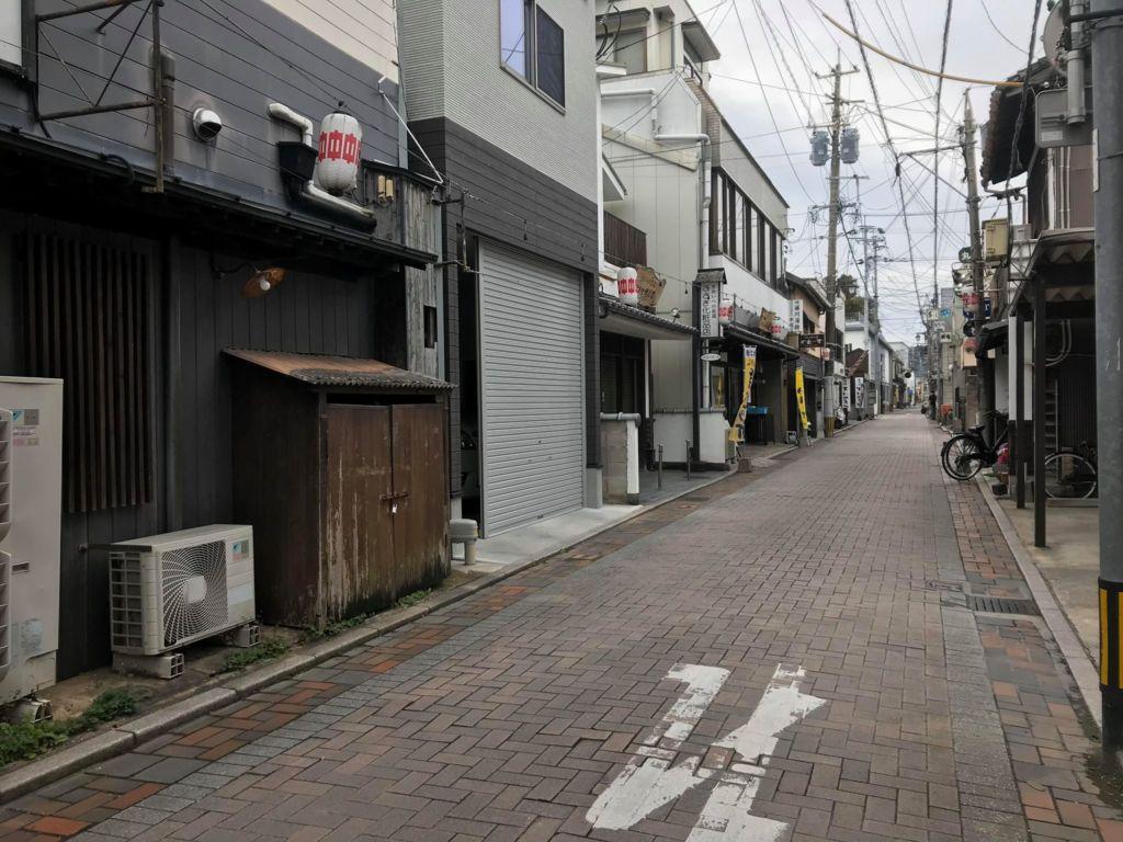 ย่านโกะฟุคุมะจิ เมืองคาราสึ
