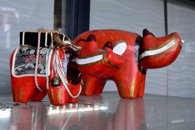อาคาเบโกะ วัวแดงตัวน้อยแห่งฟุคุชิมะ