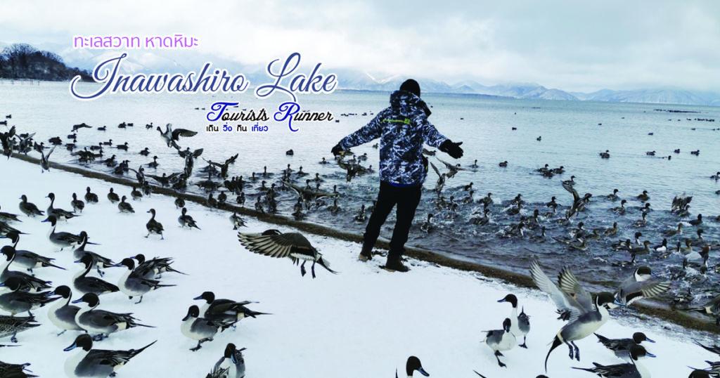 ชมฝูงนกที่หาดหิมะทะเลสาบอินะวะชิโระ (Inawashiro Lake)