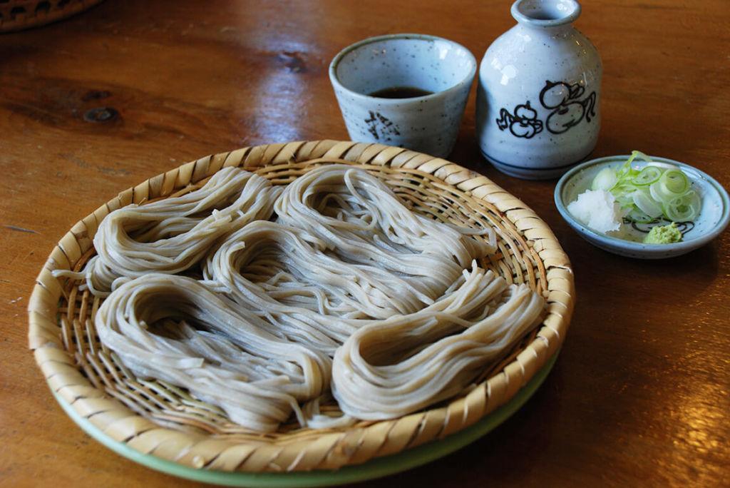 โซบะ Togakushi จากจังหวัดนากาโน่