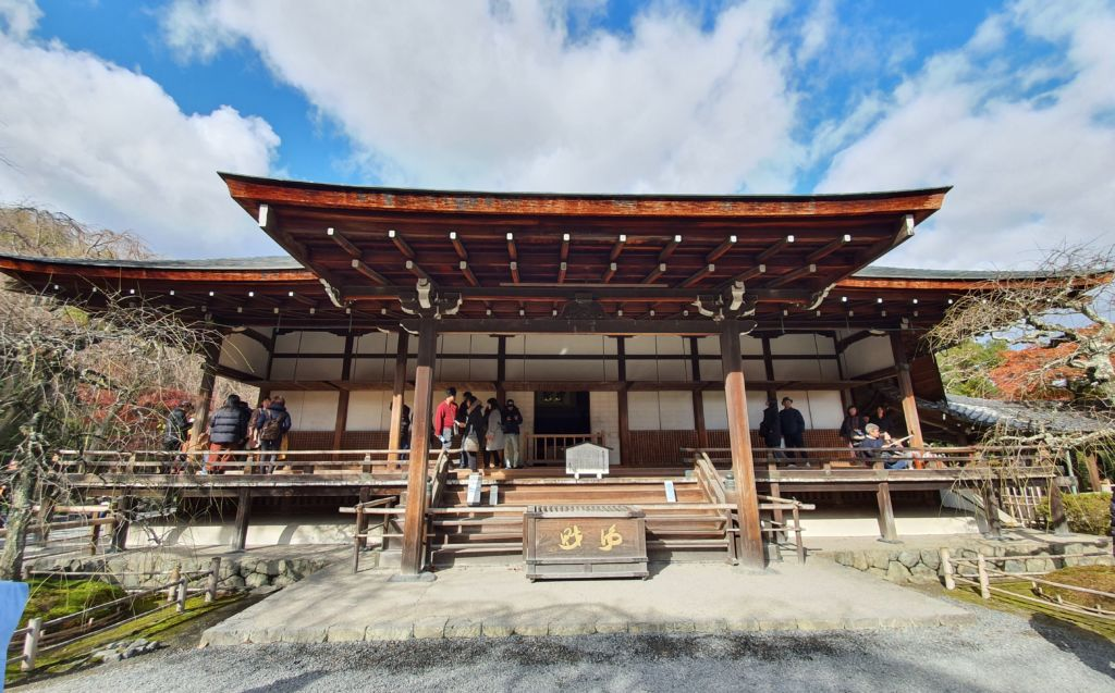 วัดเท็นริวจิ (Tenryu-ji Temple) หรือ วัดมังกรสวรรค์