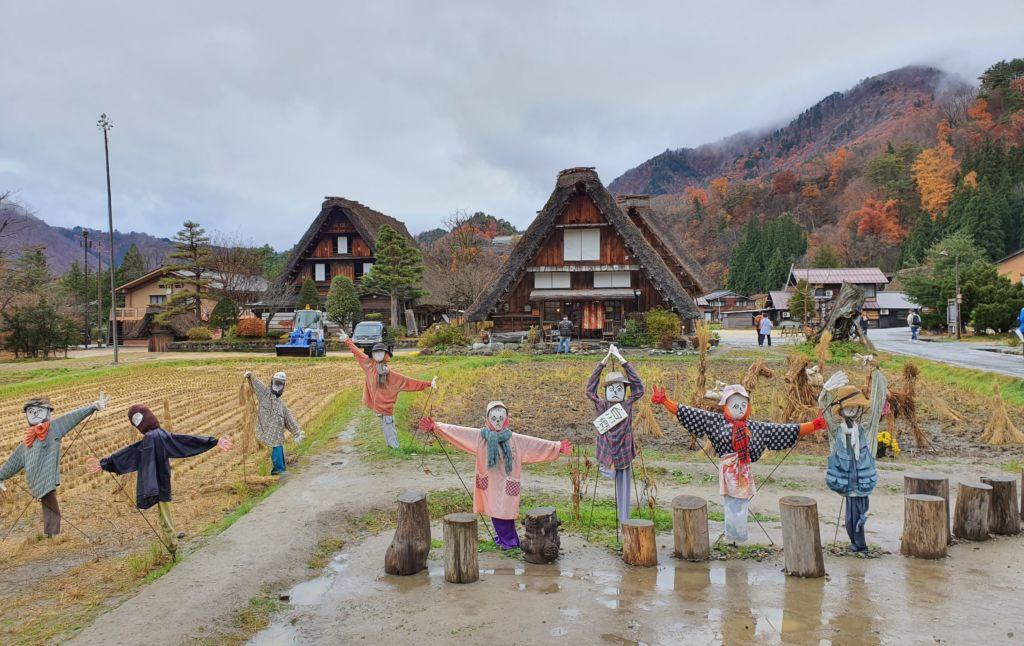 หมู่บ้านชิราคาวาโกะ (Shirakawa-go) ที่ Gifu