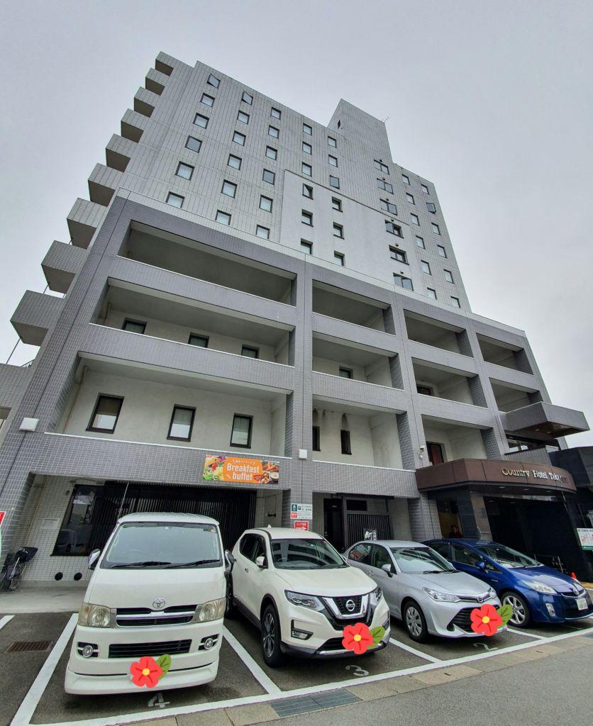 รีวิวโรงแรมCountry Hotel Takayama ที่ทาคายาม่า