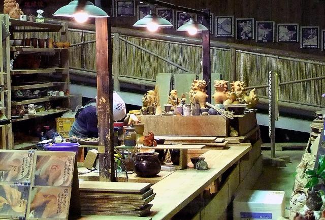 ยาจิมุน ศิลปะโลดแล่นบนจานชามเครื่องปั้นดินเผาโอกินาว่า