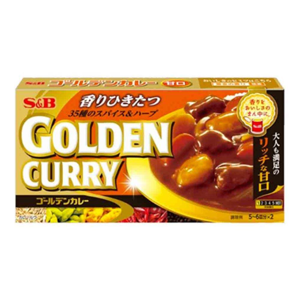 Golden curry sauce mix mild