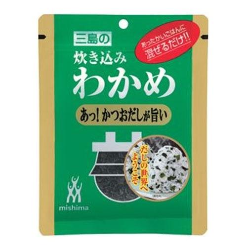 ผงโรยข้าวสาหร่ายวากาเมะผสมดาชิ (ตรา Mishima)