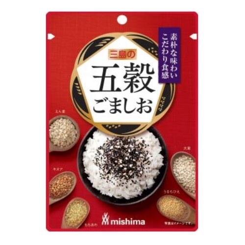 ผงโรยหน้าข้าวผสมงาและธัญพืช (ตรา Mishima)
