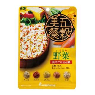 ผงโรยข้าวรสธัญพืช 5 ชนิด ผสมผัก (ตรา mishima)